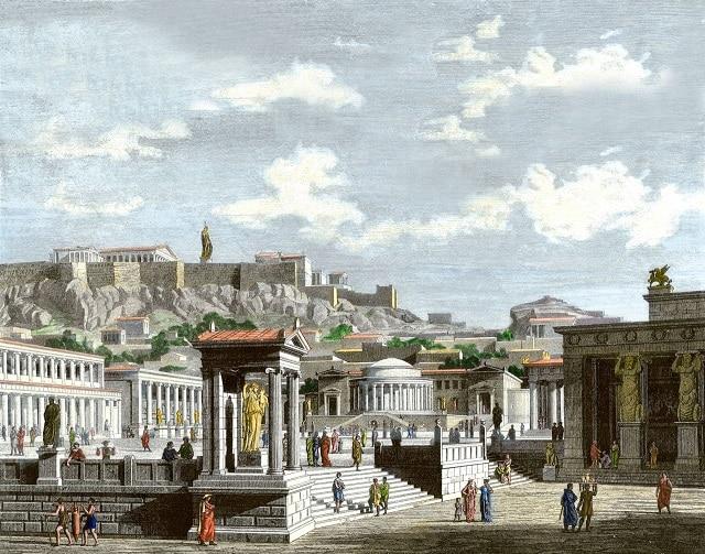 Атина е окупирана от хора непрекъснато в продължение на 5000 години - огромните мегаполиси на древния свят