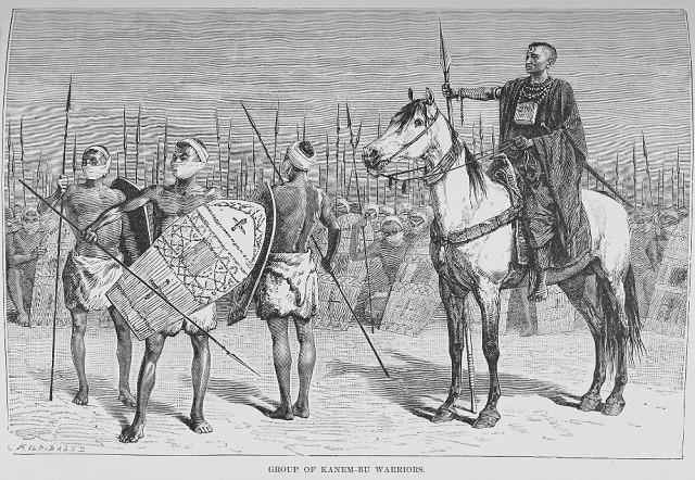 Канемска империя (Канем-Борну) - 9 век - 1808 г. сл.н.е.