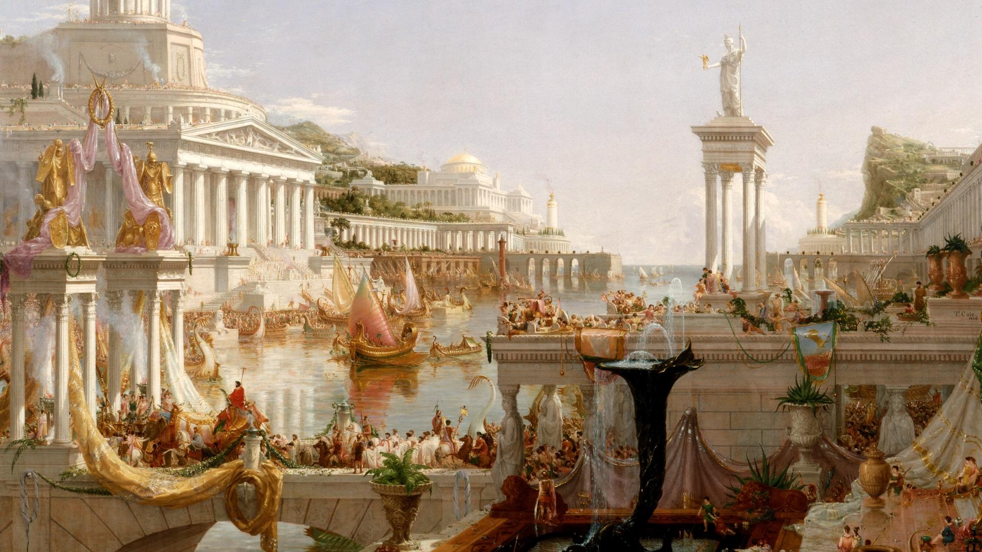 Римска империя - 27 г. пр. н. е. - 1453 г. сл. н. е. - най-дълго просъществувалите империи в историята