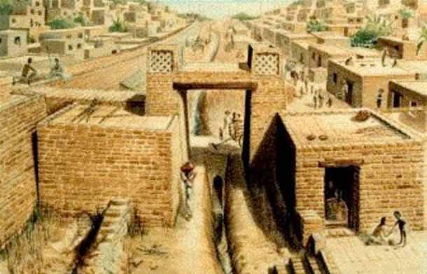 Къщите на Индската Цивилизация