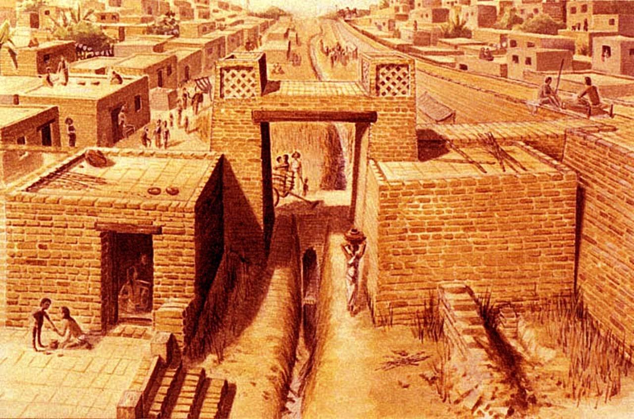 Градоустройство - очарователни факти за Индската цивилизация