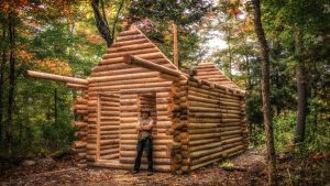 Как се прави къща от дървени трупи - етапи на строителството
