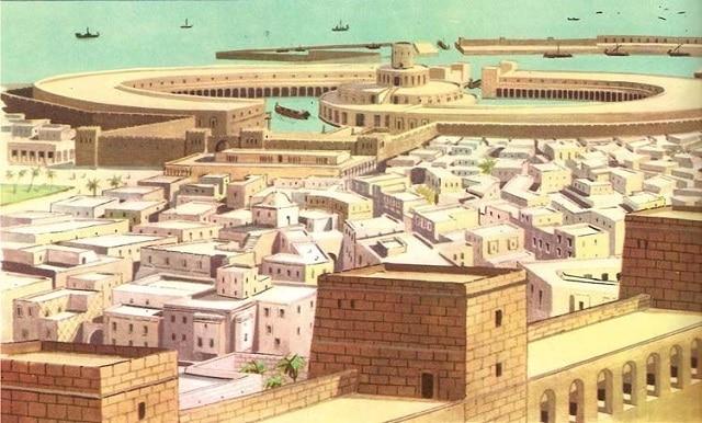 Картаген съперничи на Рим като най-мощния град в Древното Средиземноморие