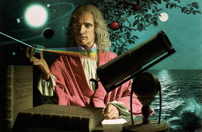 Исак Нютон - най-умните хора на планетата