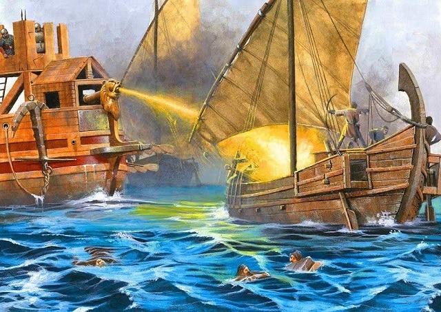 """Смъртоносният """"гръцки огън"""" бил семейна тайна - загадъчни древни изобретения без научно обяснение"""