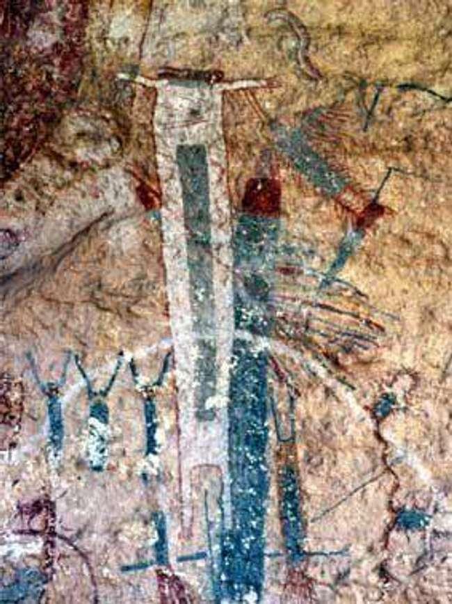 Бялата шаманска скала в Северна Америка - невероятни неразгадани древни мистерии от целия свят
