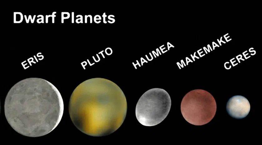 Има 5 планети джуджета - любопитни факти за формирането на нашата слънчева система