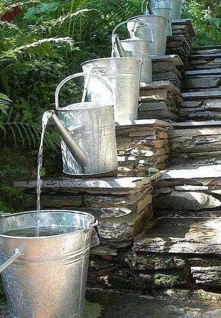 как да създадем филтър за био вода от стари лейки