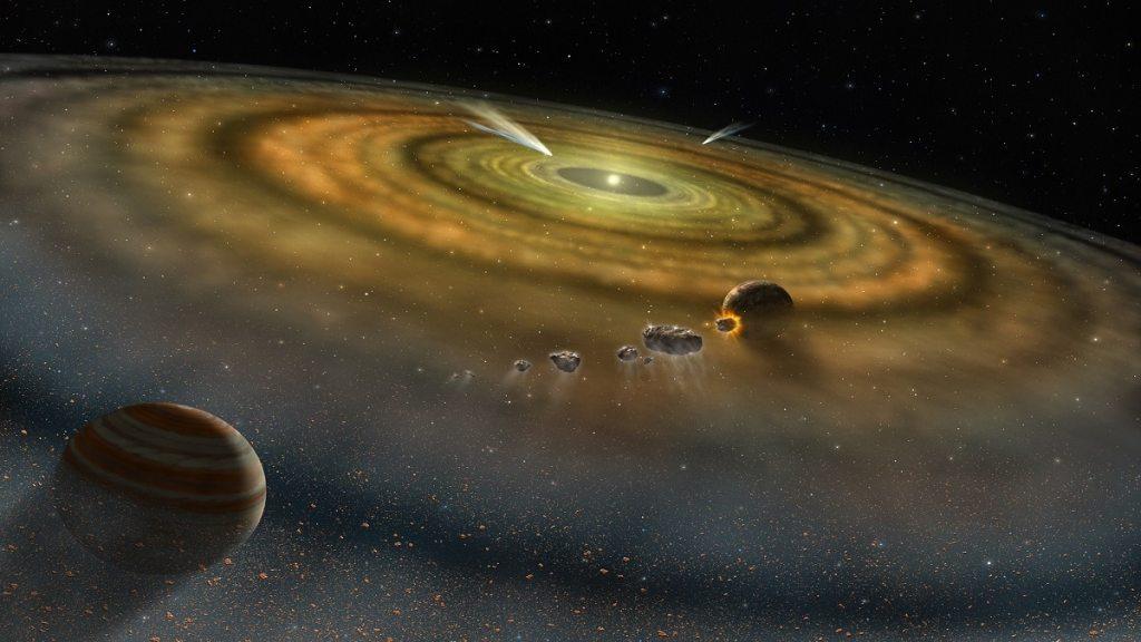 Любопитни факти за формирането на нашата слънчева система - любопитни факти за формирането на нашата слънчева система