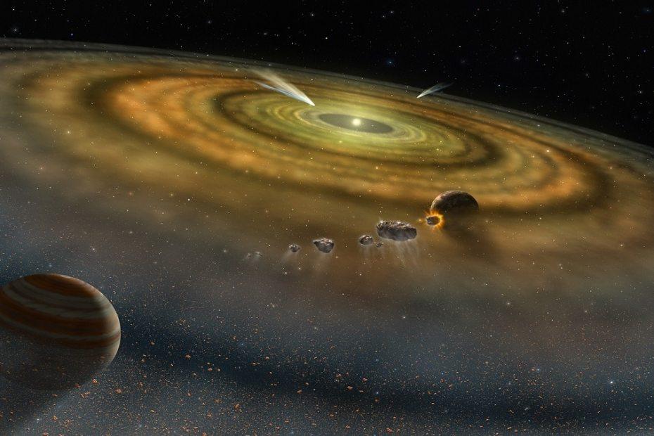 Любопитни факти за формирането на нашата слънчева система