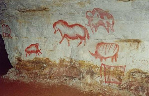 Пещера Капова - Башкирия, Русия (36 000 години)