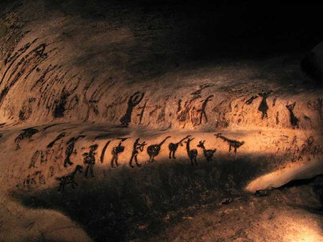Пещера Магурата - България - най-старите пещерни рисунки в България