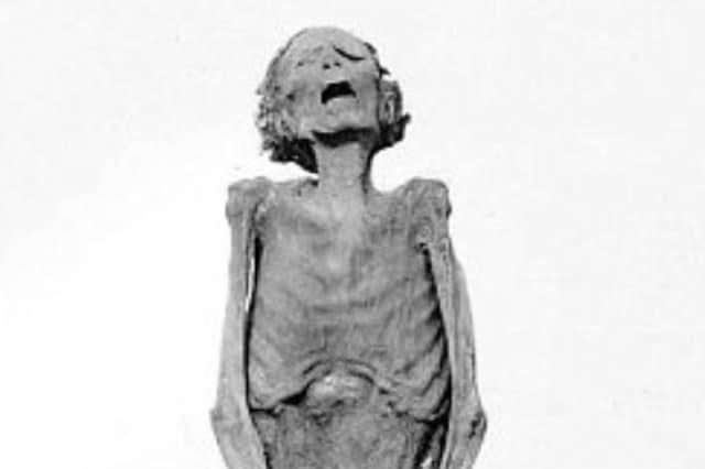 """Каква е историята около """"крещящата"""" мумия"""