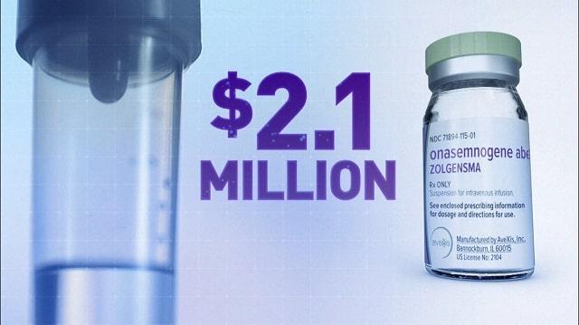 Лекарството Золгенсма (Zolgensma) - най-скъпите неща на света