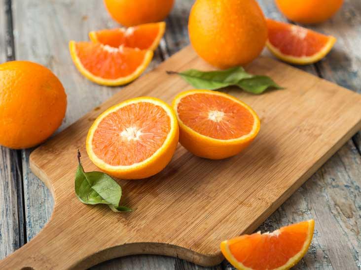 Портокали - ORAC, еквивалент на Trolox, μmol на 100 гр = 750