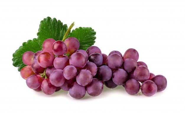 Червено грозде - ORAC, еквивалент на Trolox, μmol на 100 гр = 739