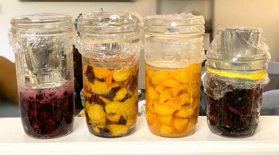 Как да правим компот от ферментирали плодове