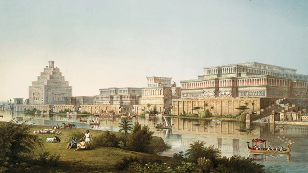 Вратите на Ниневия, Ирак