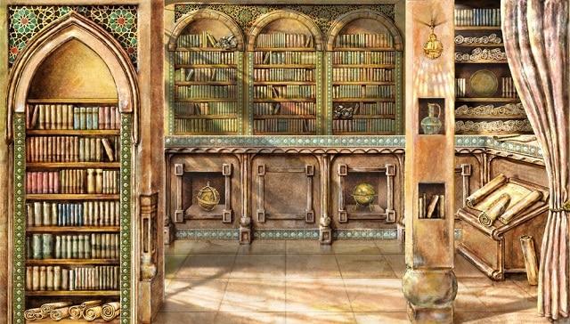 Императорската библиотека на Константинопол, Истанбул, Турция