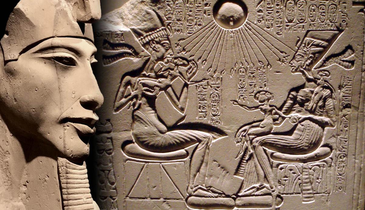 Ехнатон - най-важните фараони в древен Египет