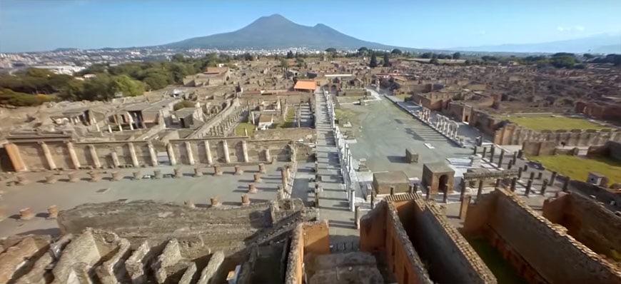 Археологическият парк Помпей (Италия) - най-добрите археологически реставрации