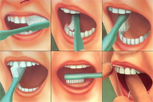 Как трябва да си мием зъбите правилно