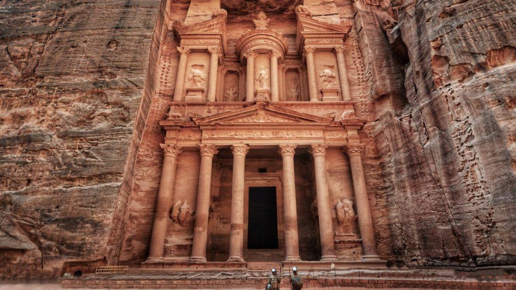 Комплекса Петра в Йордания - най-добрите археологически реставрации