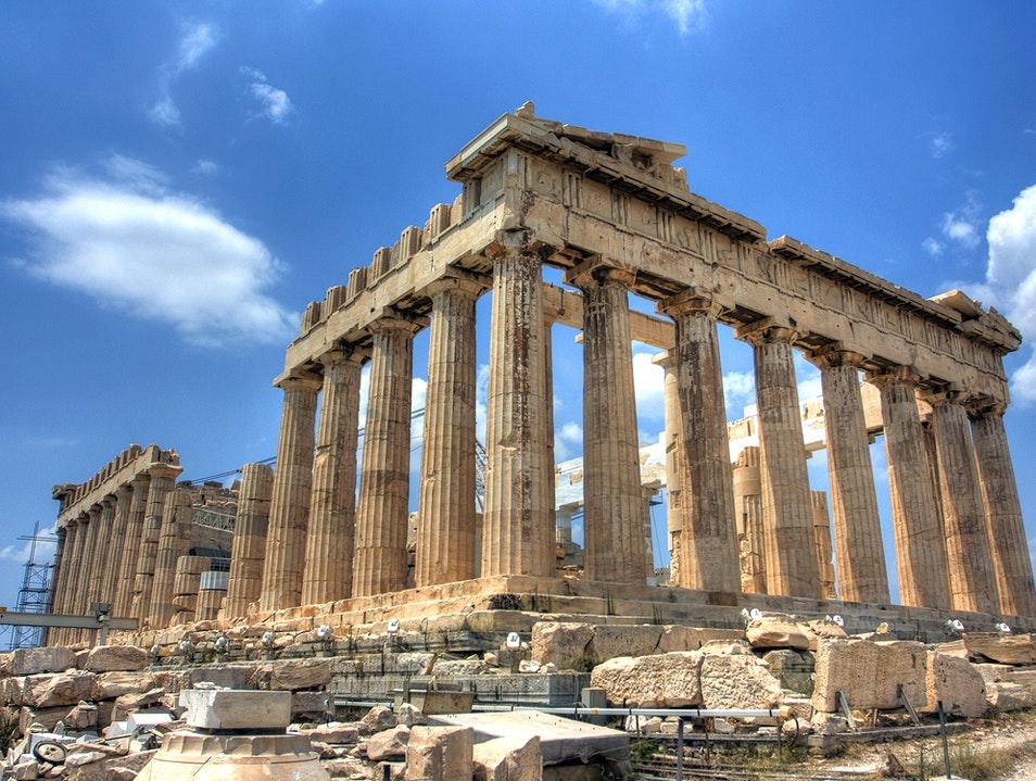 Партенонът (Гърция) - най-добрите археологически реставрации
