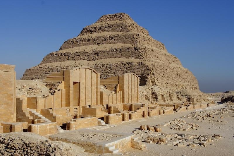 Пирамидата на Джосер (Египет) - най-добрите археологически реставрации
