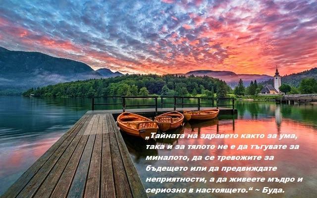 """""""Тайната на здравето както за ума, така и за тялото не е да тъгувате за миналото, да се тревожите за бъдещето или да предвиждате неприятности, а да живеете мъдро и сериозно в настоящето."""" ~ Буда. Как да започнем да живеем пълноценно?"""