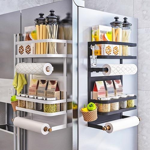 Магнитен органайзер за хладилник - как да организираме кухнята