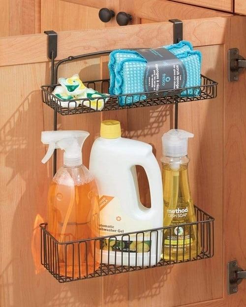 Органайзер за съхранение в кухненските шкафове - как да организираме кухнята