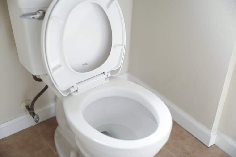 Пускащата се с вода тоалетна