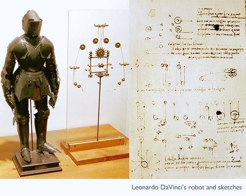 Роботът на Да Винчи
